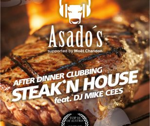 Friday 05.02.2016 - 4th Asado's Steak'n House after Dinner Clubbing